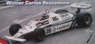 Williams FW07B Ford 1er GP Monaco - kit à monter  1/43