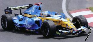 Renault R26 1er GP Canada - kit à monter  1/43