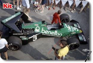 Tyrrell 012 Ford GP Autriche et Hollande  1/43