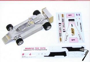 March 792 F2 GP Suzuka   1/43
