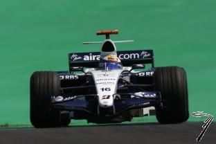 Williams FW29 Toyota 4ième GP Brésil  1/43