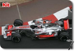 Mac Laren MP4/22 Mercedes 1er GP Monaco  1/43