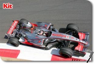 Mac Laren MP4/22 Mercedes 1er GP Italie  1/43