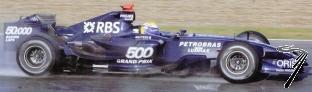 Williams FW29B Toyota Test Jerez Janvier  1/43