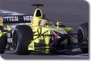 Jordan Honda EJ11 GP USA Jean Alesi 200ème Grand Prix  1/43