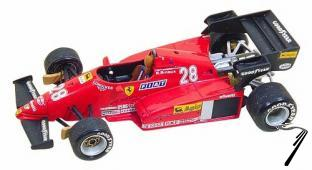 Ferrari 126 C3   German G.P.  1/43