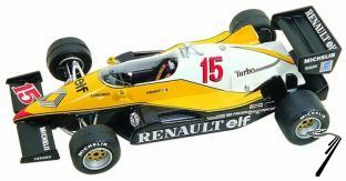 Renault RE40 TURBO Belgian G.P.  1/43