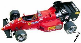 Ferrari 126 C4  Belgian G.P.  1/43