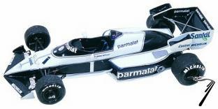 Brabham BT53 BMW U.S.A. G.P.  1/43