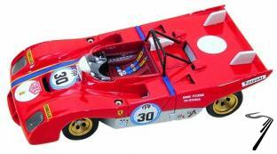 Ferrari 312PB  BOAC 500 Brands Hatch  1/43