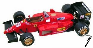 Ferrari 156/85  Brazilian G.P.  1/43