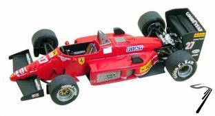 Ferrari 156/85B  Italian G.P.  1/43