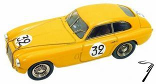 Ferrari 166 MM  women Team 24 H Le Mans  1/43