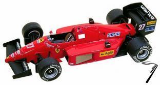 Ferrari F.1/86  Brazilian G.P.  1/43