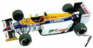 Williams FW11 HONDA Brazilian G.P.  1/43
