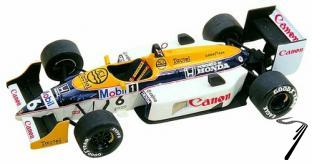 Williams FW11 HONDA Australian G.P.  1/43