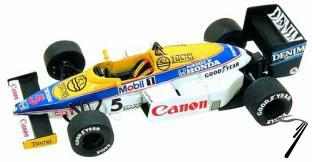 Williams FW10b HONDA Australian G.P.  1/43