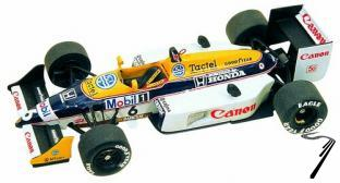 Williams FW11b HONDA San Marino G.P.  1/43