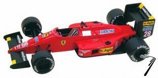 Ferrari F.1/87  San Marino G.P.  1/43