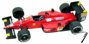 Ferrari F.1/87  Japan G.P.  1/43