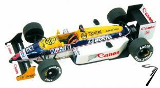 Williams FW11b HONDA Australian G.P.  1/43
