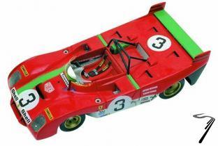 Ferrari 312PB Sport  Targa Florio  1/43