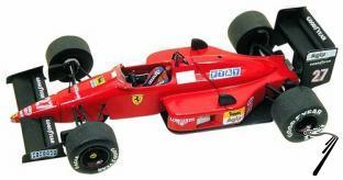 Ferrari F.1/87-88c  Brazilian G.P.  1/43