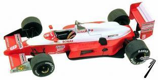 Zakspeed Zk881 ZAKSPEED Monaco G.P.  1/43