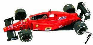 Ferrari F.1/89  Press Version  1/43
