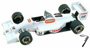 AGS JH23 COSWORTH Brazilian G.P.  1/43