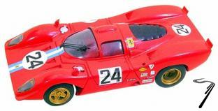 Ferrari 312P Coupè  24 H Daytona  1/43