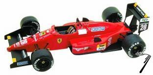 Ferrari F.1/87-88c  Italian G.P.  1/43