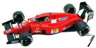 Ferrari F.1/89  Brazilian G.P.  1/43