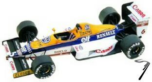 Williams FW12c RENAULT San Marino G.P.  1/43