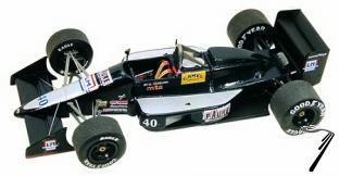 AGS JH23 COSWORTH Monaco G.P.  1/43