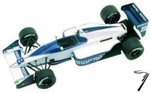 Brabham BT58 JUDD Monaco G.P.  1/43