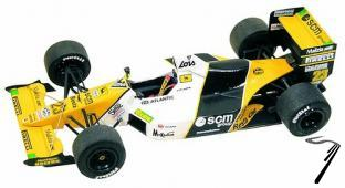 Minardi M189 COSWORTH British G.P.  1/43