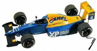 Tyrrell 18 COSWORTH French G.P.  1/43