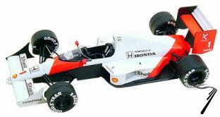 Mac Laren MP4/5 HONDA British G.P.  1/43
