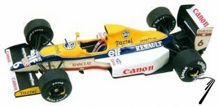 Williams FW13 RENAULT Australian G.P.  1/43