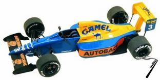 Tyrrell 18 COSWORTH Japan G.P.  1/43