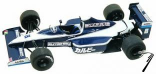 Brabham BT59 JUDD Japan G.P.  1/43