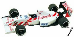 Arrows A11b COSWORTH Monaco G.P.  1/43