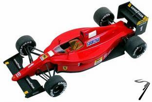 Ferrari 641/2  Monaco G.P.  1/43