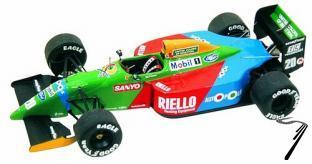 Benetton B190 FORD Monaco G.P.  1/43