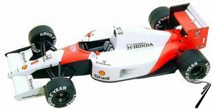 Mac Laren MP4/6 HONDA U.S.A. G.P.  1/43