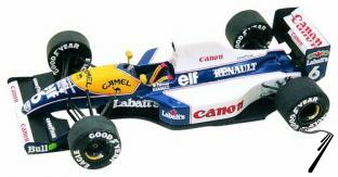 Williams FW14 RENAULT Brazilian G.P.  1/43