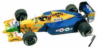Benetton B190b FORD U.S.A. G.P.  1/43