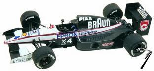 Tyrrell 20 HONDA U.S.A. G.P.  1/43