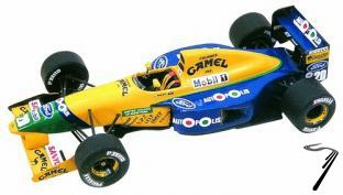 Benetton B191 FORD Canadian G.P:  1/43